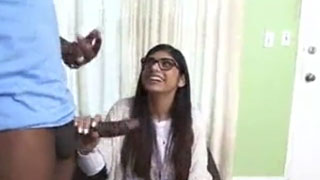 Mia Khalifa and Her First Black Monster