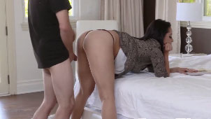 Awesome Stepmom Bent Over and Get Fucked