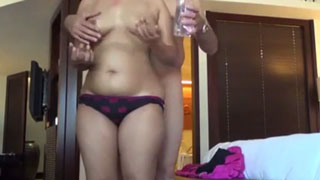 Nice Ass Aunt Seduces her Cousin at His Home