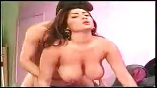 Curvy Indian Milf Loves to Press Cock with Big Tits