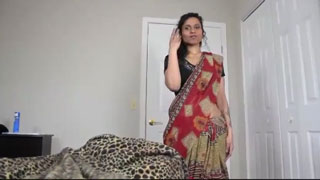 Stepmother Harasses Her Son While Jerking Off