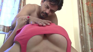 Indian Big Boobs Babe Surprised Her Confused Neighbour