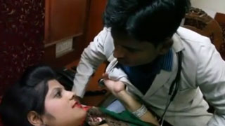 Confused Doctor Didn't Understand What Desi Babe Wants