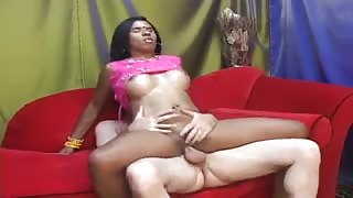 Fake Desi Girl Loves White Tongue and Cock