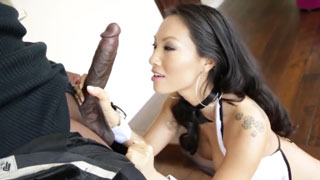 Asa Akira's First Monster Cock in Her Asshole