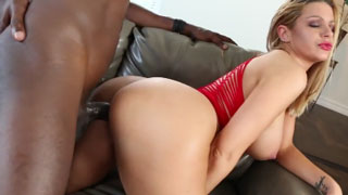 Brooklyn Chase Craves for Big Black Salami