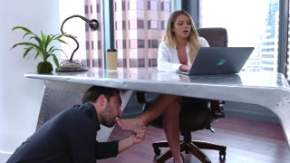 Female Boss Loves to Tortures Her Employees