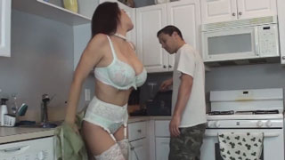 Busty Milf Doesn't Have Money to Pay a Plumber