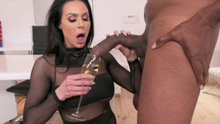 Incredible Kendra Lust Has A BIG BBC Celebration