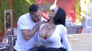 Extravagance Latin Sybil Stallone Hard Fucked by Handsome Masseuse