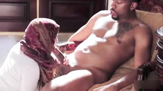 Shy Arab Wife Rides So Good Well-Hung Black Guy